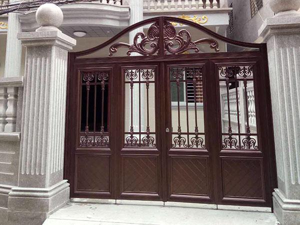 欧式风格庭院铝艺大门